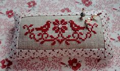 Stitches & Crosses Marijke: Embroidery free pattern