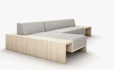 Slow sofa par Frederik Roijé