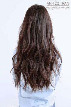 BANGS! Cut/Style: Anh Co Tran • IG: @anhcotran • Appointment inquiries please call Ramirez Tran Salon in Beverly Hills at 310.724.8167.  #hair #besthair #beachhair #johnnyramirez #highlights #model #ramireztransalon #sunkissedhighlights #bestsalon #beauty #lahair #brunette #blonde #highlights #caramel #salon #blondehair #beachyhair #beautifulhair #ramireztran #ramireztransalon #sexyhair #livedinhair