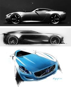 Concept Design Sketches by Mikael Lugnegard