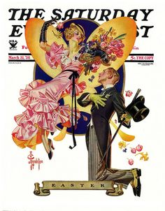 The Saturday Evening Post - March 31 1934 - Cover art by J.C. Leyendecker