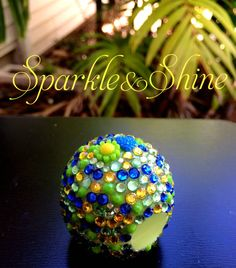 Honeysuckle Honeydew Bling EOS Lip Balm by SparkleAndShineByLW, $10.00
