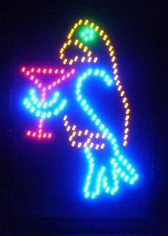 High Impact, Energy Efficient Games LED Sign
