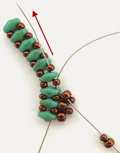 "Linda's Crafty Inspirations: ""Mystery SuperDuo Bracelet"" ~ Seed Bead Tutorials"