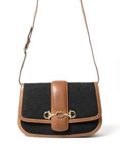 ef8098b4a9a Gucci Monogram Saddle Crossbody Bag authentic secondhand vintage designer  luxury bags brands safe online shopping webshop Belgium Antwerp LabelLOV  shopping ...