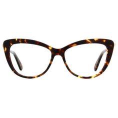 Kate Spade New York Mirele Women's Eyeglasses ($189) ❤ liked on Polyvore featuring accessories, eyewear, eyeglasses, tortoise, retro cat eye glasses, tortoise shell glasses, cat eye tortoise shell eyeglasses, cateye glasses and cat eye glasses