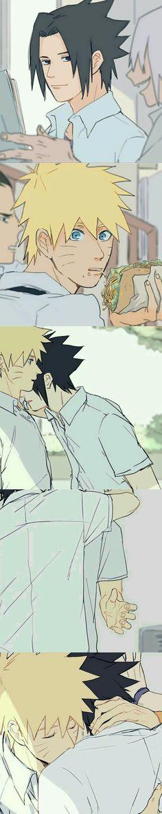 Naruto And Sasuke / SasuNaru / #anime I need to post this one