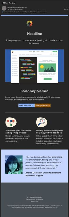 The Ultimate Guide to Dark Mode for Email Marketers – Litmus Software, Inc. Dark Backgrounds, Colorful Backgrounds, Outlook 2019, Different Types Of Colours, Email Design Inspiration, Email Marketing Design, Email Client, Like Image, Eye Strain
