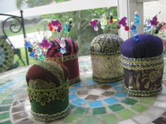 Royal Pin Cushions :))