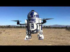 'Star Wars' Fan Creates A Super Elaborate R2-D2 Drone