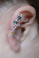 Shealynn's Faerie Shoppe: Swirly Ear Cuff Tutorial