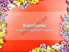 Red Box Of Choclates With Balloons Powerpoint Templates Ppt Themes