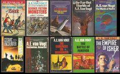 AE VAN VOGT SET OF 10 BOOKS VINTAGE SCIENCE FICTION CLASSICS