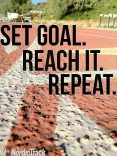 """This is gonna a repeat goal!!  First Goal: Run a 5K. 