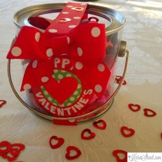 Why I Love You Jar: A Valentine's Day DIY Gift