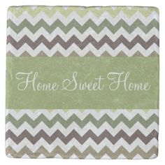 Shop Forest Green Colors Chevron Stripes Stone Coaster created by Personalize it with photos & text or purchase as is! Forest Green Color, Green Colors, Tabletop Accessories, Stone Coasters, Custom Coasters, Drink Coasters, Hostess Gifts, House Warming, Beverage