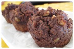 Chunky Muffins 1/2 cup coconut flour 1/2 teaspoon sea salt 1/2 teaspoon bi-carb soda 6 eggs 1/3 cup honey or coconut sugar 1/3 cup coconut oil, melted 1 tablespoon vanilla 3 or 4 mashed bananas 1/2 cup mixed seeds (sunflower, pine nuts, and peppita) 1/3 cup coconut flakes 1/4 cup raw cacao powder