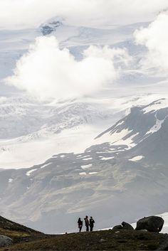 A view next to Jokulsarlon Glacier Lagoon. Check for more photos our blogpost!