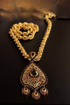 Arabic Jewelry, Filigree Jewelry, Gold Jewelry, Jewelery, Gold Necklace, Pendant Necklace, Moroccan Jewelry, Gold Pendent, Jewelry Center