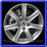 Acura TSX 2005 Wheels & Rims Hollander #71731 #Acura #TSX #AcuraTSX #2005 #Wheels #Rims #Stock #Factory #Original #OEM #OE #Steel #Alloy #Used