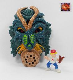Mighty Max - Mecha Crawler & Octoslime - Monster Heads - Bluebird Toys 1994 (7)