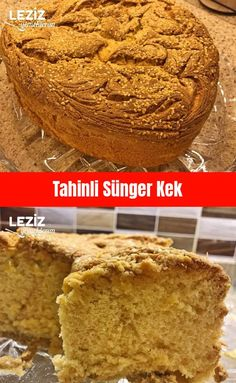 Tahini Sponge Cake – My Delicious Food – Kek Tarifleri Homemade Birthday Cakes, Birthday Cakes For Women, Tahini, Turkish Sweets, Healthy Cake Recipes, Birthday Cake Decorating, Specialty Cakes, Sponge Cake, Themed Cakes
