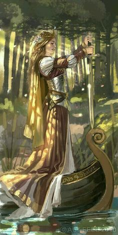 New Fantasy Art Character Inspiration Knights Ideas Character Inspiration, Character Art, Character Concept, Roi Arthur, King Arthur, The Lady Of Shalott, Fantasy Kunst, Medieval Fantasy, Medieval Art