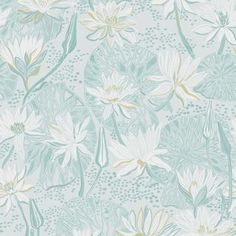 The wallpaper Näckros - 5373 from Engblad & Co is a wallpaper with the dimensions x m. The wallpaper Näckros - 5373 belongs to the popular wallpap Swedish Wallpaper, Grey Floral Wallpaper, Coastal Wallpaper, Scandinavian Wallpaper, I Wallpaper, Designer Wallpaper, Beautiful Wallpaper, Colorful Wallpaper, High Quality Wallpapers