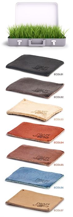 EtiECO collection Dienpi - leather ecological and sustainable - chrome free