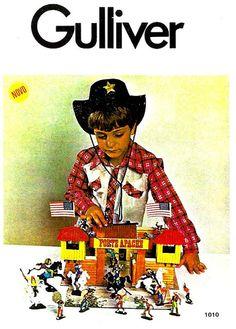 Catálogo Gulliver  Novo Forte Apache 1978 modelo nº1010: