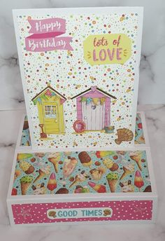 Good Times, Toy Chest, Storage Chest, Happy Birthday, Toys, Cards, Home Decor, Happy Brithday, Activity Toys