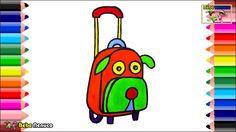 Juguetes para Bebés Perro Rosa Maleta para Niñas- Libro para Colorear y ...