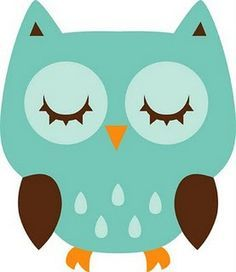 Free download Sleeping Owl Clipart for your creation.