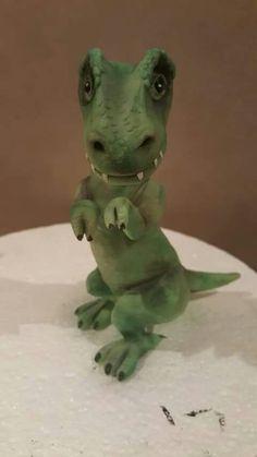 Dinosaur cake topper (from facebook)