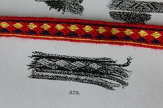 Band 379 from Kekomäki, Kaukola tablet woven by Aisling pattern can be found here http://aisling.biz/index.php/anleitungen/139-wikinger