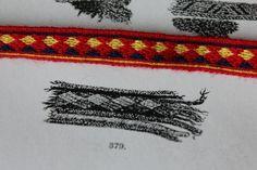 Band 379 from Kekomäki, Kaukola tablet woven by Aisling.