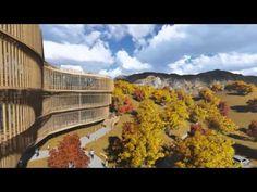 Конкурсный проект многофукционального центра для малых городов - YouTube