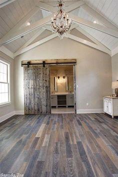 Farmhouse Master Bedroom  #HomeGardening
