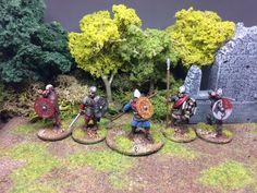 Matt's gaming page (Glenbrook Games): Saga Welsh Warband commission