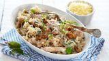 Pasta Med Kylling, Nøtter Og Ruccola - Oppskrift fra TINE Kjøkken