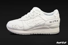 Asics Gel Lyte III  (White/White) Sizes: 36 to 46 EUR Price: CHF 160.-  Available now in Pomp It Up ! #Asics #GelLyteIII #GL3 #Sneakers #SneakersAddict #PompItUp #PompItUpShop #PompItUpCommunity #Switzerland Baskets, Asics Gel Lyte Iii, Chf, White White, Switzerland, Unisex, Sneakers, Shoes, Fashion