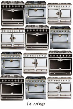 Selecting major kitchen appliances