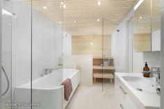 Myynnissä - Rivitalo, Lehtisaari, Helsinki: #sauna #kylpyhuone #oikotieasunnot #kylpyamme