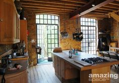 Warehouse Conversion / London | Amazing Space -  possible living space for Jake character