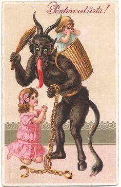 Papai Noel, Santa Claus, São Nicolau e a lenda de Krampus
