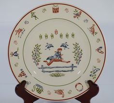 Johnson Brothers Twelve Days of Christmas salad plate - 10 Lords a-Leaping. Quality plate with all decoration under glaze. NOTE The plate stand is not ... & Christopher Radko design for Target: Holiday Celebrations ...
