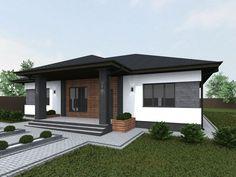 Minimalist House Design, Small House Design, Minimalist Home, Modern House Design, Home Building Design, Home Design Plans, Building A House, My House Plans, Modern House Plans