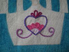 Cadenilla / chain stitch. Diseño de Carina / Carina's design