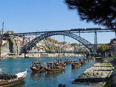 Porto. City of bridges. Repinned from Hanny van Kuijck.