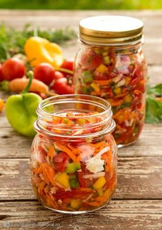 Photo about Vegetable preserved in jars for soups. Soup In A Jar, Metabolism Boosting Foods, Canning Pickles, Vegetarian Recipes, Cooking Recipes, Romanian Food, Romanian Recipes, Home Food, Fermented Foods
